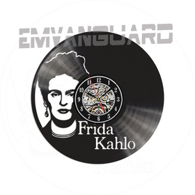 Reloj Frida Kahlo Vinilo Ideal Regalo  El 2do Al 20% Off