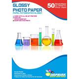 Papel Fotografico Glossy Brillante A3+(33x48) 230gr/50 Hojas