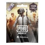 Tarjeta Pubg Mobile Uc 1500+300 Original Envio En Minutos
