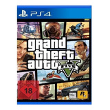 Grand Theft Auto V Standard Edition Rockstar Games Ps4  Físico