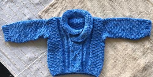 Sweaters/ Saquitos De Bebé Tejidos A Mano. Excelente Calidad