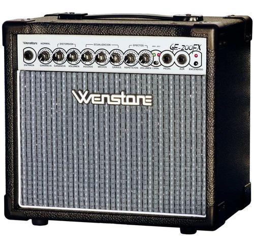 Ge-200fx Wenstone, Guitarra, Doble Canal, 20 Watt, Efectos.