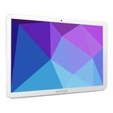 Tablet  Con Funda Gadnic Taurus Phone Tab0024c 10.1  32gb Blanca Con Memoria Ram 2gb Y Conexión A Celular