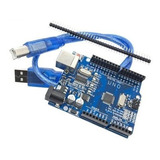 Arduino Uno R3 Chip Mega328p Smd Con Cable Usb