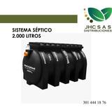 Pozo Septico 2000 Litros Rotoplast