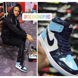 Tenis Nike Air Jordan 1 Retro High Unc Patent 2021