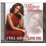Cd Whitney Houston - I Will Always Love You - Coletanea Ori Original