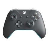 Joystick Inalámbrico Microsoft Xbox One Grey Y Blue