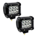 Par Luces Exploradora 12 Led 7200lm Carro Moto