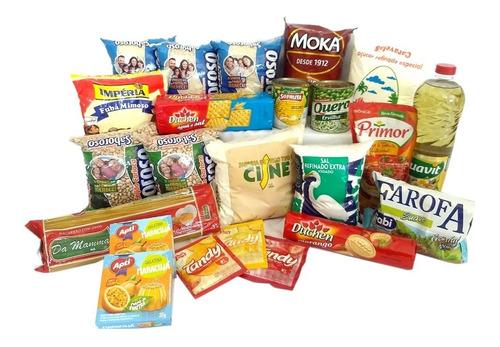 Cesta Básica De Alimentos (23 Itens)