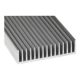 Disipador Aluminio Económico Grande Led Grow 10 X 20 Cm