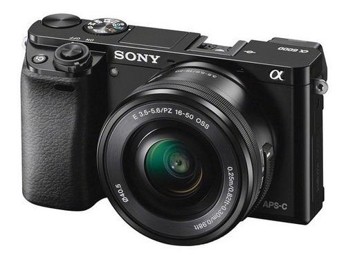 Cámara Sony Alpha A6000 Con Lente 16-50mm