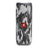 Parlante Jbl Flip 5 Portátil Con Bluetooth Black Camo