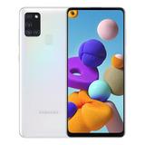 Samsung Galaxy A21s 128 Gb Blanco 4 Gb Ram