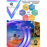 Papel Adhesivo Fotográfico A4 50 Hojas Tinplus