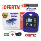 Oximetro De Pulso, Pulsioximetro Digital Contec