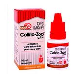 Colirio Zoo Solución Otico Oftalmico Para Perros Gatos 10ml