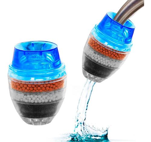 Filtro Purificador De Agua Canilla Carbon Descartable Cocina