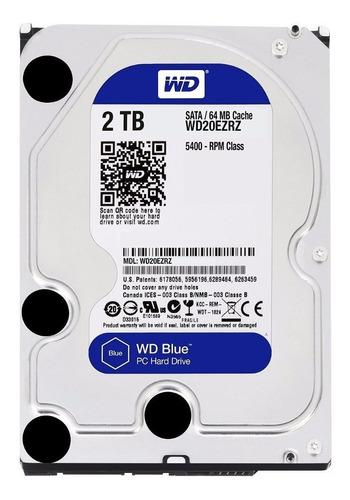Disco Rigido Interno 2tb Blue Wd Western Digital 64mb Sata 3