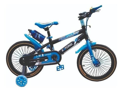 Bicicleta Rodado 16  Para Niñas Y Niños
