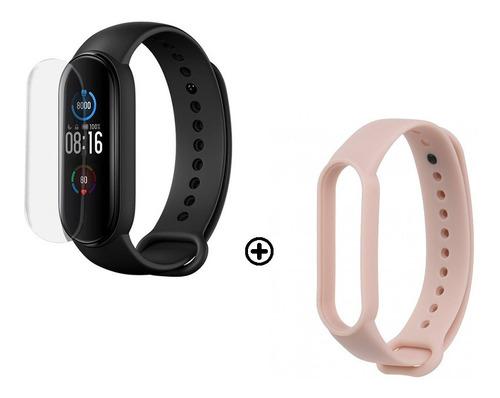 Xiaomi Mi Band 5 Smartwatch Reloj Inteligente + Film + Malla