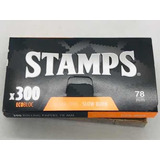 Papel Stamps Bloc 300hojas Ultra Fino Candyclub Once