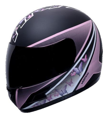 Casco Moto Dama Mujer Vertigo Hk7 Rosa Rpm-1240