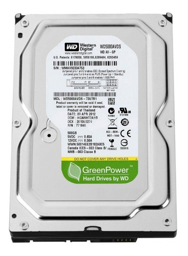 Disco Duro Seagate 500gb Sata 3.5 Para Pc Dvr Cctv
