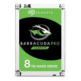 Disco Duro Interno Seagate Barracuda St8000dm005 8tb Verde
