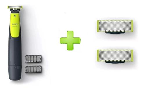 Philips Oneblade Qp2510/10 Afeitadora + 2 Cuchillas Recambio