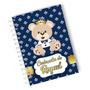Caderneta De Vacinação Ursinho Príncipe Capa Dura Nome Original