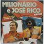 Lp Vinil Usado Milionário E José Rico No Cinema Vol.9 Original