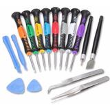 Kit De Desarmadores Reparacion Celulares iPhone iPad 14pzs