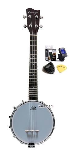Banjolele Danny / Remo Ukulele Banjo 4 Cuerdas C/accesorios