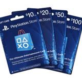 Tarjeta Psn 10 Usd Playstation Gift Card - Usa - En Minutos