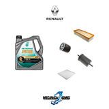 Service 10k Renault Clio 1.6 16v Escaneo + Revision 4 Filtr