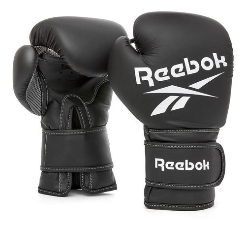 Guante De Boxeo 12 Oz Negro Reebok Supergym