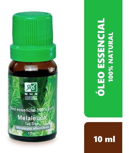 Oleo Essencial De Melaleuca Tea Tree 100% Puro 10 Ml - Rhr