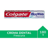 Colgate Max White Crystal Mint Gel  130 Ml Tubo