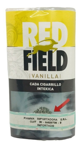 Tabaco Red Field 30gr Belgica Para Armar Local Once