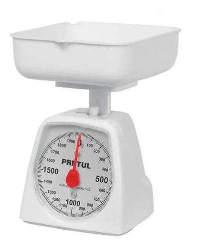 Báscula Gramera Mecánica De Cocina Para 1kg