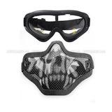 Máscara Protectora Táctica De La Máscara De La Malla De Alam