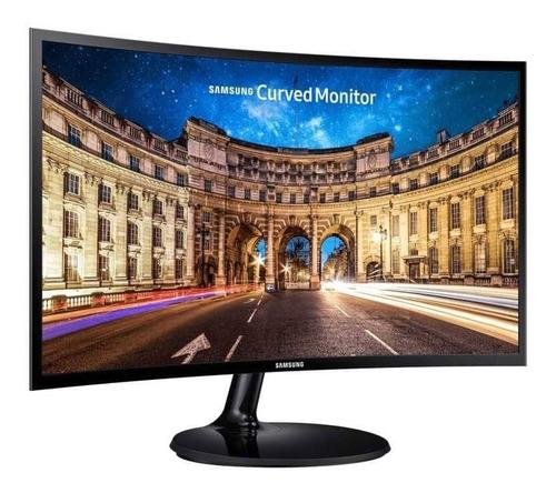 Monitor Samsung 24  Curvo, Hdmi, Vga Freesync Lc24f390fhlxzs