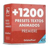 Mega Pack +1200 Textos Animados Titulos Proyecto Premier Pro