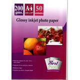 Papel Fotográfico Glossy A4 200 Gr 50 Hojas