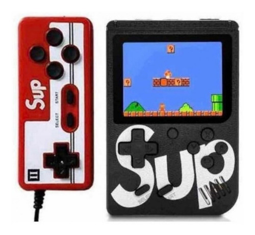 Mini Consola Portatil  Retro Sup Game 400 En 1 Con Joystick