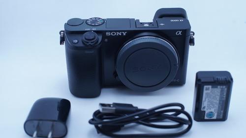 Cámara Sony A6000 Solo El Cuerpo