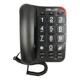 Telefono Dblue De Sobremesa Dbtl299 Negro Buychile