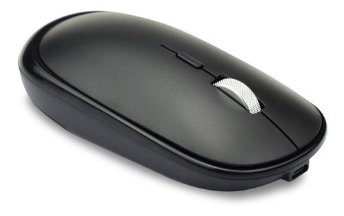 Mouse Inalámbrico Tedge Wireless Recargable Negro