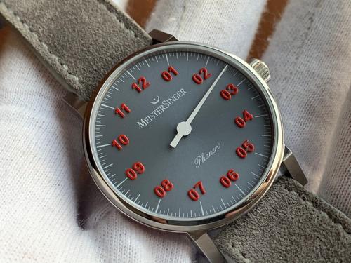 Relógio Meistersinger Phanero Mechanical Ph307r